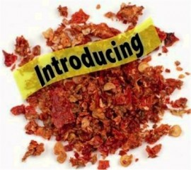 4 Ounce Dried Carolina Reaper Flakes